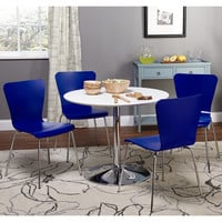Simple Living Pisa Modern 5pc Dining Set | Overstock.com Shopping - The Best Deals on Dining Sets