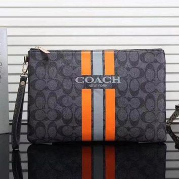 Coach New Fashion Women Leather Handbag Tote Clutch Bag