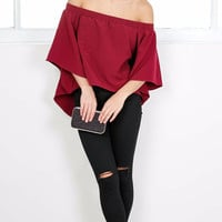 JoJo Off The Shoulder Blouse