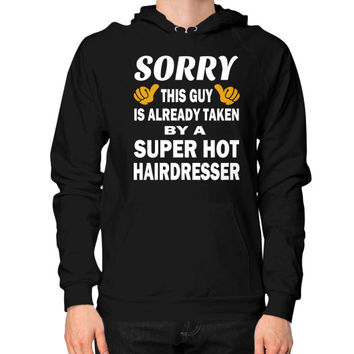 Taken by a super hairdresser Hoodie (on man)