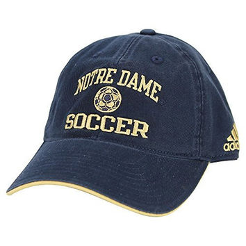 Adidas Notre Dame Fighting Irish Athletic Teams Classic Adjustable Baseball Hat (Soccer)