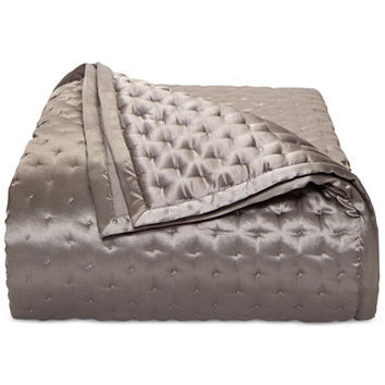 Hotel Collection Finest Silken Quilted Queen Coverlet, Only at Macy's | macys.com