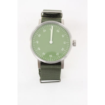VOID V03B Watch - Brushed/Green