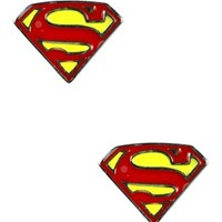 DC Comics Superman Shield Earrings - Buy Online at Grindstore.com