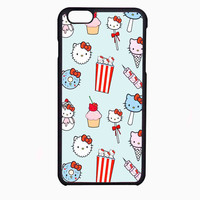 hello kitty ice cream popcorn FOR IPHONE 6 CASE NEWEST **