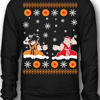 EXCLUSIVE Premium Dragon Ball Z Ugly Christmas Sweatshirt