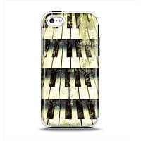 The Vintage Pianos Keys Apple iPhone 5c Otterbox Symmetry Case Skin Set