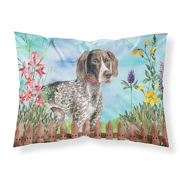 German Shorthaired Pointer Spring Fabric Standard Pillowcase CK1203PILLOWCASE