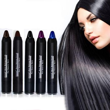 Hair Color Professional colorful For Permanent Non-Toxic Temporary Salon Hair Color Pen Dye Pastels #M02253