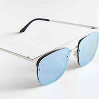 Quay Private Eyes Aviator Sunglasses - Urban Outfitters