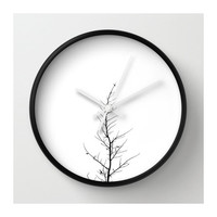 Minimalistic Tree Wall Clock.