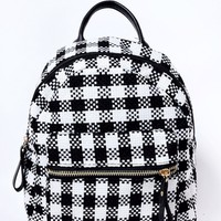 Dionne Plaid Mini BackPack