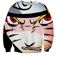 Awesome Sage Fox Naruto Crew Neck. Get Yours Today