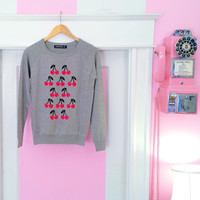 Cheery Cherry Sweater