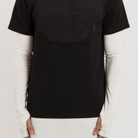 TS016 Armour Chest Plate Tee - Black