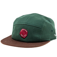 The Wax Seal 5 Panel Hat in Hunter