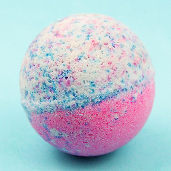 Cotton Candy Mini Bath Bomb