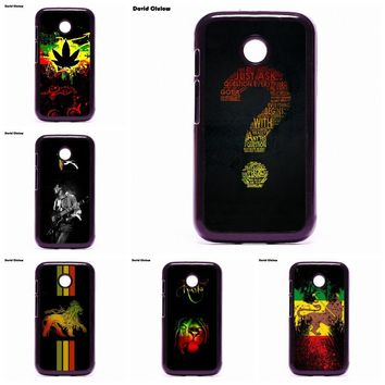 Printed Phone Case Cover Shell Bob Marley Rasta For Moto E2 E3 D1 D3 G G2 G3 G4 G5 PLUS X X2 Play Nokia 550 630 640 650 830 950