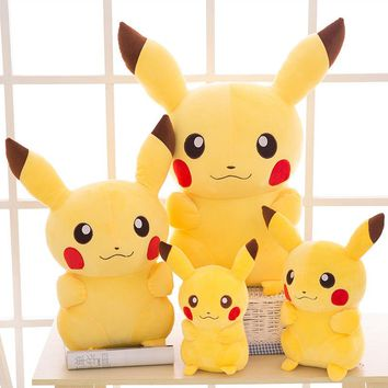 Pikachu Plush Pillow Pokemon Cushion Cute gifts for families to send family gifts to children free shipping