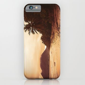 Sunset Sandy Beach iPhone & iPod Case by Cinema4design | Society6