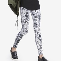 CROCODILE PRINT SEXY STRETCH LEGGING