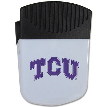 TCU Horned Frogs Chip Clip Magnet CPMC112