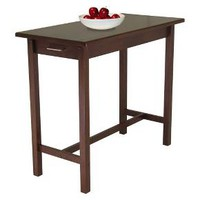 Breakfast Table Wood/Antique Walnut - Winsome : Target