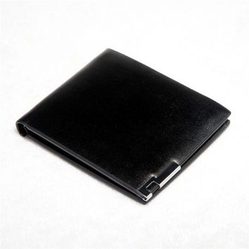 New Men Stylish Bifold Business Leather Wallet