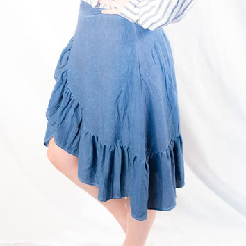 Umgee - Tulip Ruffled Skirt