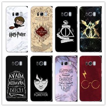 Harry Potter Hogwarts Pattern Design Hard phone Matte plastic Ca d42b4eec15