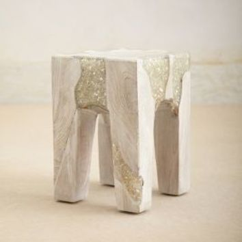 Anatolia Side Table by Anthropologie White One Size Furniture