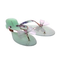 Jelly Bow Sandals