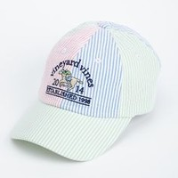 4-Panel Seersucker Hat