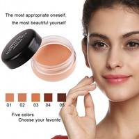 New Women's Natural Concealer Foundation Full Cover Cream Beauty Makeup