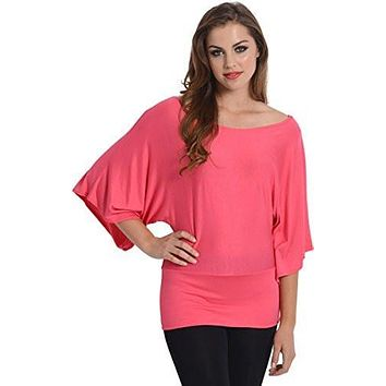 Kimono Off-Shoulder Tee T-shirt Top