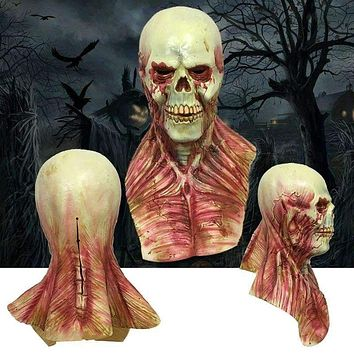 Horror Halloween Melting Face Mask