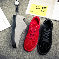 New Arrival Spring and Autumn Men Shoes Lace Up Men Shoes Casual Fashion Casual Shoes Men Flats Low Top High Top All In Stock