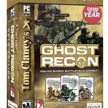Tom Clancy's Ghost Recon - Gold Edition - Windows PC CD (Very Good)