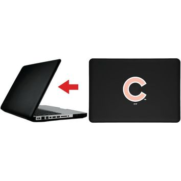 "Chicago Cubs - White With Pink design on MacBook Pro 13"" Customizable Personalized Case by iPearl"