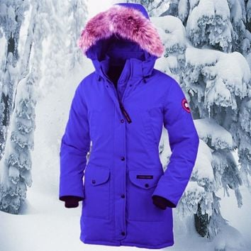 Canada Goose down jacket manufacturers _ Canada Goose down jacket women warm cold outdoor long sections [8979099783]
