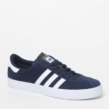 adidas Skate ADV Navy and White Shoes at PacSun.com