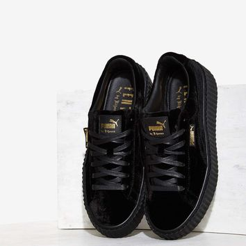best service f1fe6 5205e Puma x Rihanna Rebel Velvet Creeper from NASTY GAL | OMG, shoes!