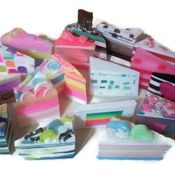 Soap Sample Sale - Bundle Soap - Large Soap Sampler - Surprise Soap - Mystery Soap Box - Oops Soap Clearance - Soap Set - Try it Soap