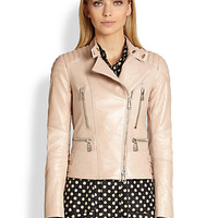 Sidney Leather Moto Jacket