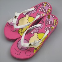New Arrival Thongs Women Beach Casual Snoopy Flip Flops Red