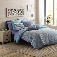 Under the Canopy® Lightworker Organic Cotton Reversible Comforter Set in Blue