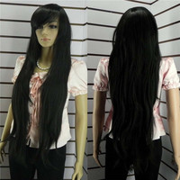 Time-limited Cosplay Wigs Synthetic Lace Front Wig Hot Sell Popular Long Straight Women Cosplay Hair Full Wigs W156