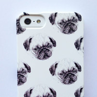 iphone 5 case pug phone case - sausage dog - dalmatian - dachshund - 3 / 3GS / 4S / 4 samsung galaxy s3