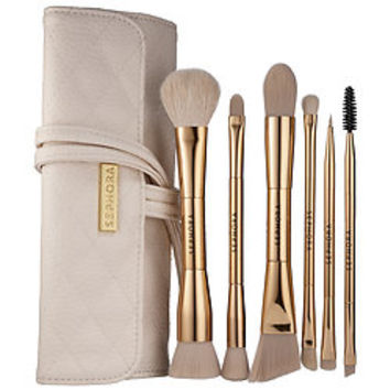 Sephora: SEPHORA COLLECTION : Double Time Double-ended Brush Set : makeup-brush-sets