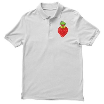 Kermit Strawberry Polo Shirt